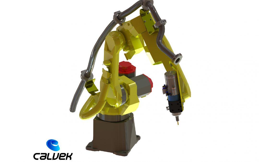 Mecanizado mediante robótica