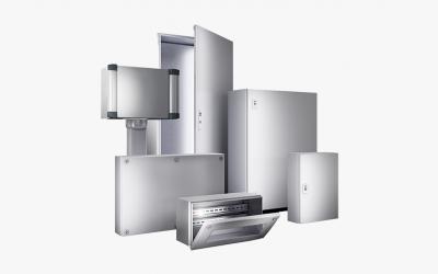 Nuevos gabinetes AX KX: La última generación de armarios compactos es una respuesta a los retos de la era de la Industria 4.0