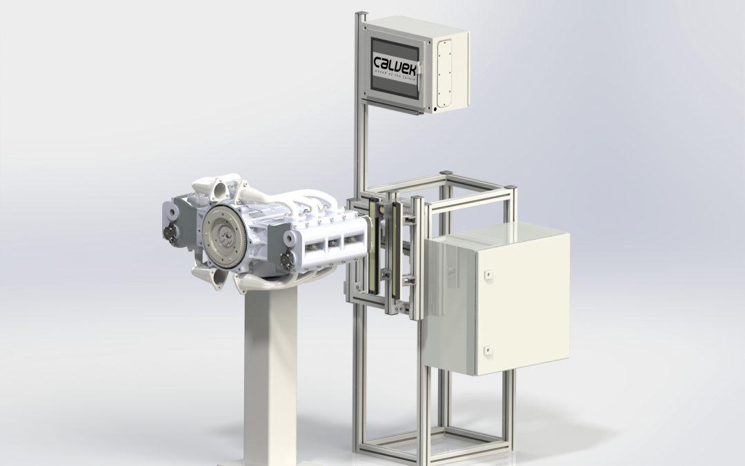 Automatización de inspección en ensambles mecánicos.