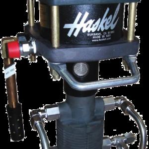 Refrigerant pump haskel